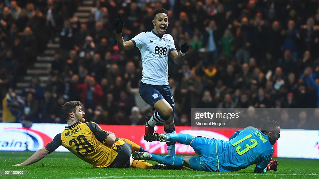 Preston North End v Arsenal - The Emirates FA Cup Third Round : News Photo