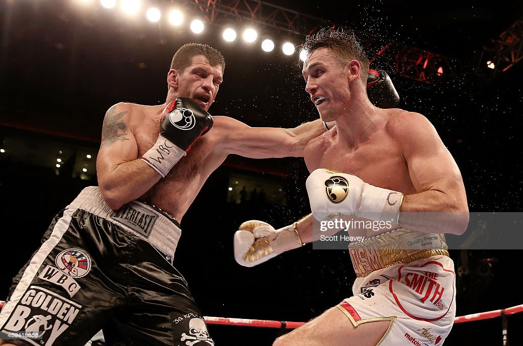 Nathan Cleverly v Tony Bellew - WBO & WBA Intercontinental Cruiserweight Title Fight
