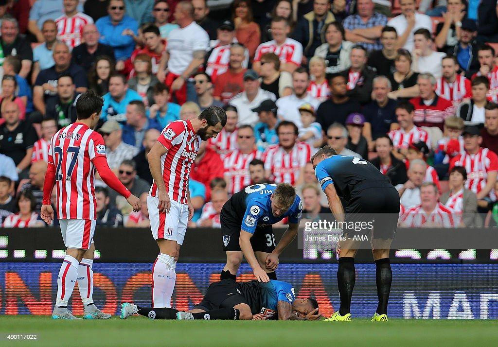 Stoke City v A.F.C. Bournemouth - Premier League