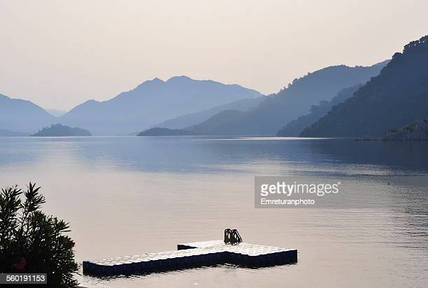 Calm and beautiful scenery of marmaris