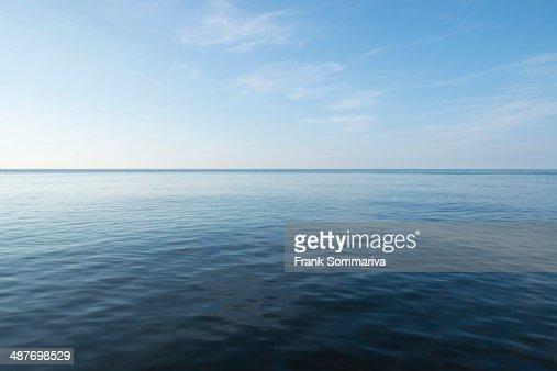 Calm Baltic Sea, Mecklenburg-Western Pomerania, Germany