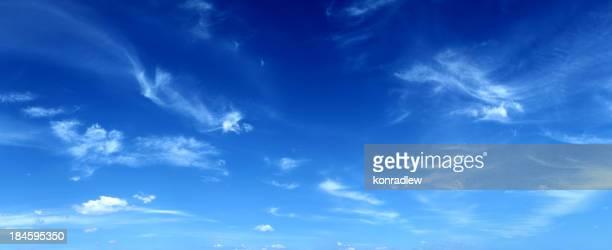 Calme XXXL panoramique ciel bleu-Image