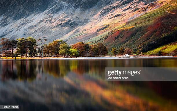 Calm, Buttermere, Lake District, Cumbria, England