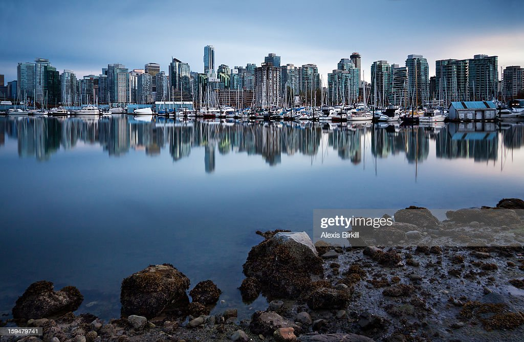 Calm Reflections of Vancouver