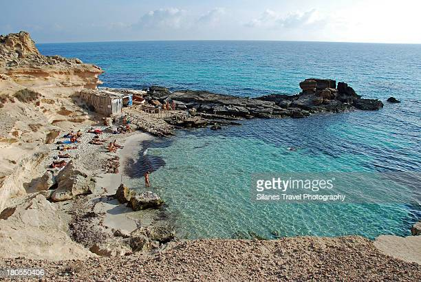 Calo des Mort Cove, Formentera, Spain
