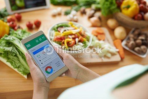 Calorie counter : Stock Photo