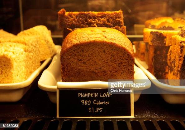 Calories are listed next to menu items in a Starbucks coffee shop July 18 2008 in New York City New York is now the first city in the country to...
