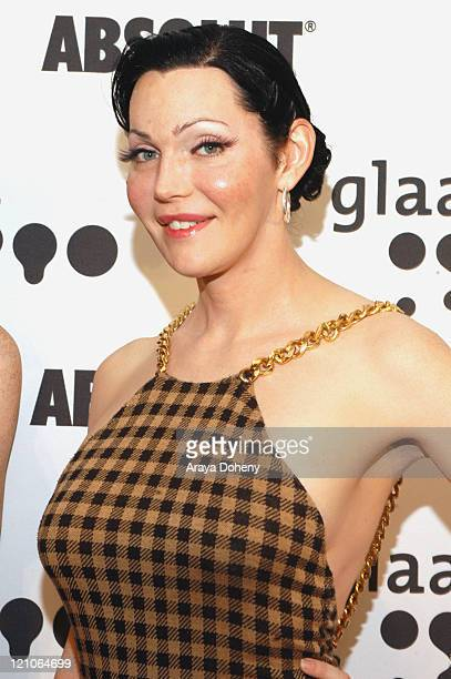 Calpernia Addams actress during 17th Annual GLAAD Media Awards at San Francisco Marriott in San Francisco CA United States