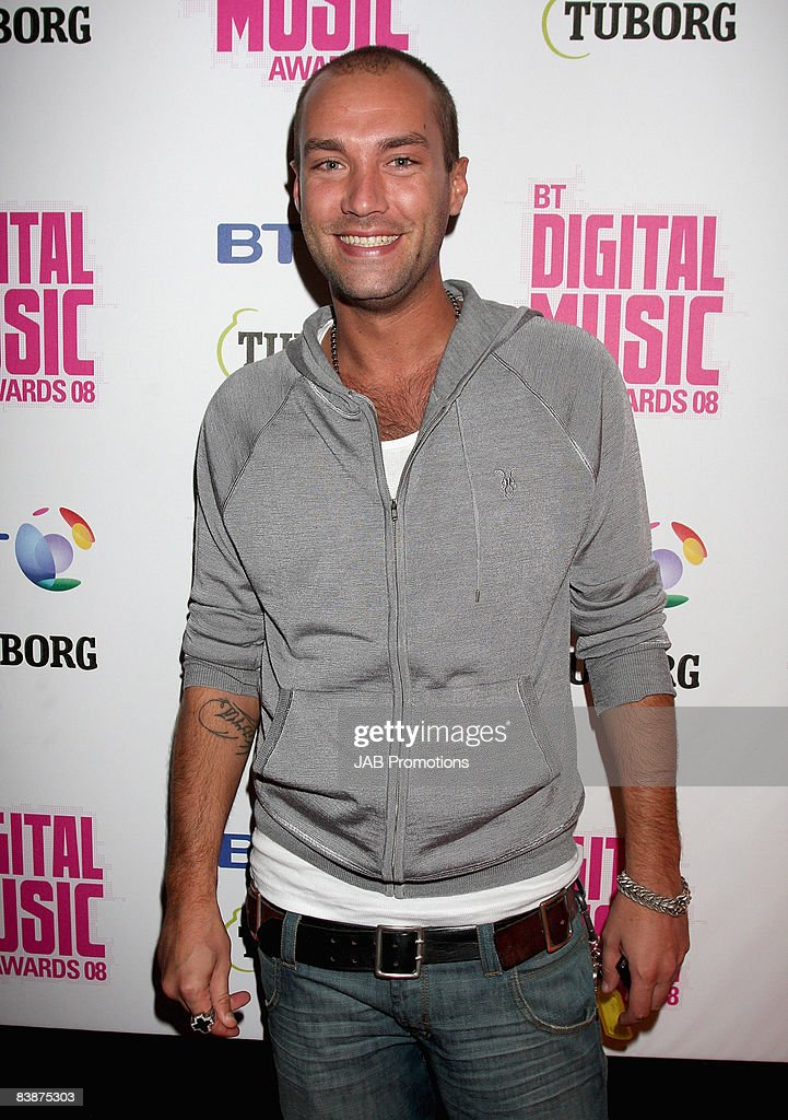 Calum Best attends the BT Digital Music Awards 2008 held at The Roundhouse on October 1 2008 in London England