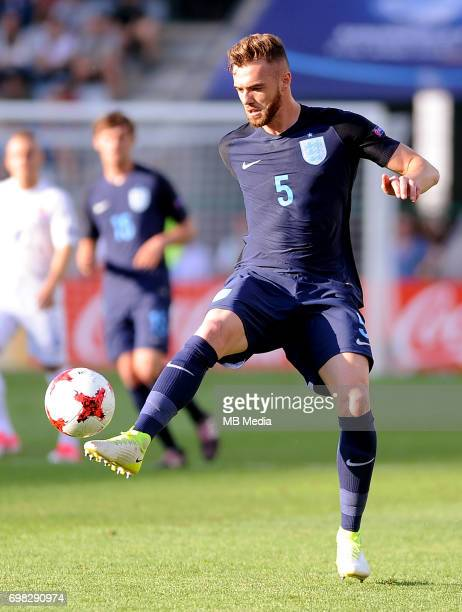 Calum Chambers during the UEFA European Under21 match between Slovakia and England at Kolporter Arena on June 19 2017 in Kielce Poland