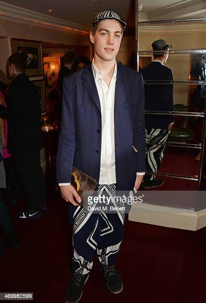 Calum Knight attends the launch of LOVE special editions at George on February 17 2014 in London England