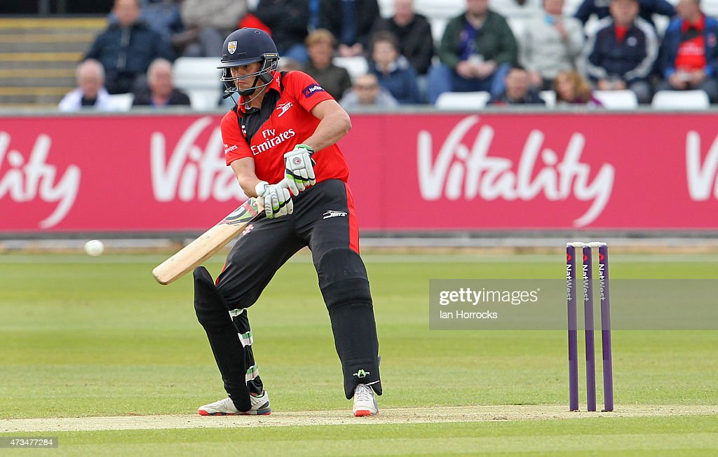 Calum MacLeod of Durham during the Natwest T20 Blast match between Durham Jets and Northamptonshire Steelbacks at The Emirates Durham ICG on May 15...