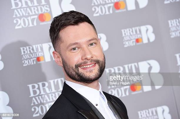 ARTIST Calum Scott attends BRITS nominations launch at ITV Studios on January 14 2017 in London England