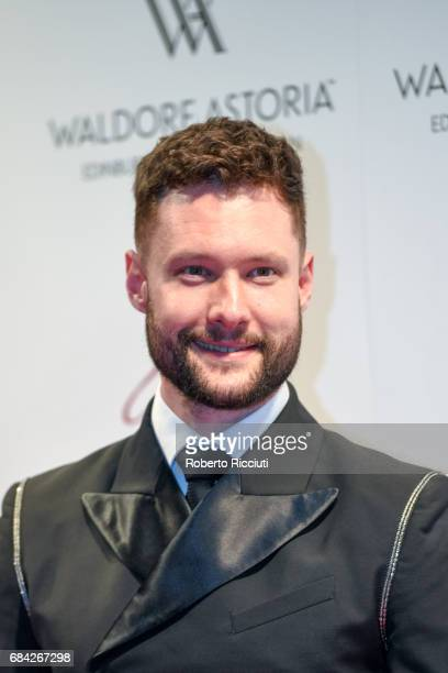 Calum Scott attends The Global Gift Gala Edinburgh at The Caledonian Hotel on May 17 2017 in Edinburgh Scotland
