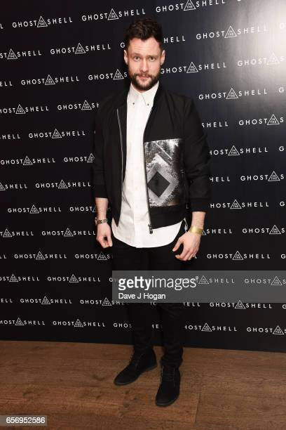 Calum Scott attends the UK gala screening of Ghost in the Shell on March 23 2017 in London United Kingdom