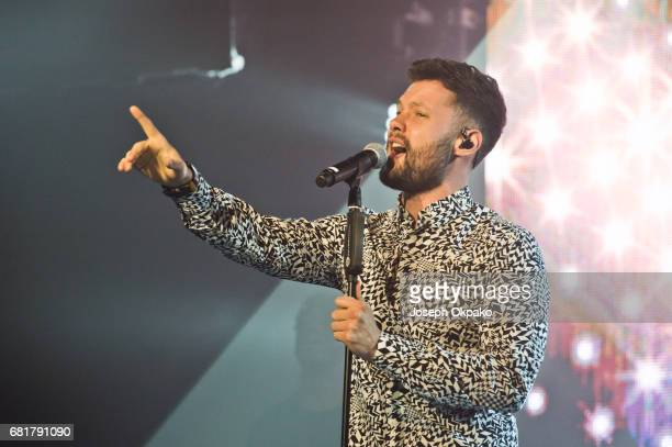 Calum Scott performs with Jonas Blue at Heaven on May 10 2017 in London England
