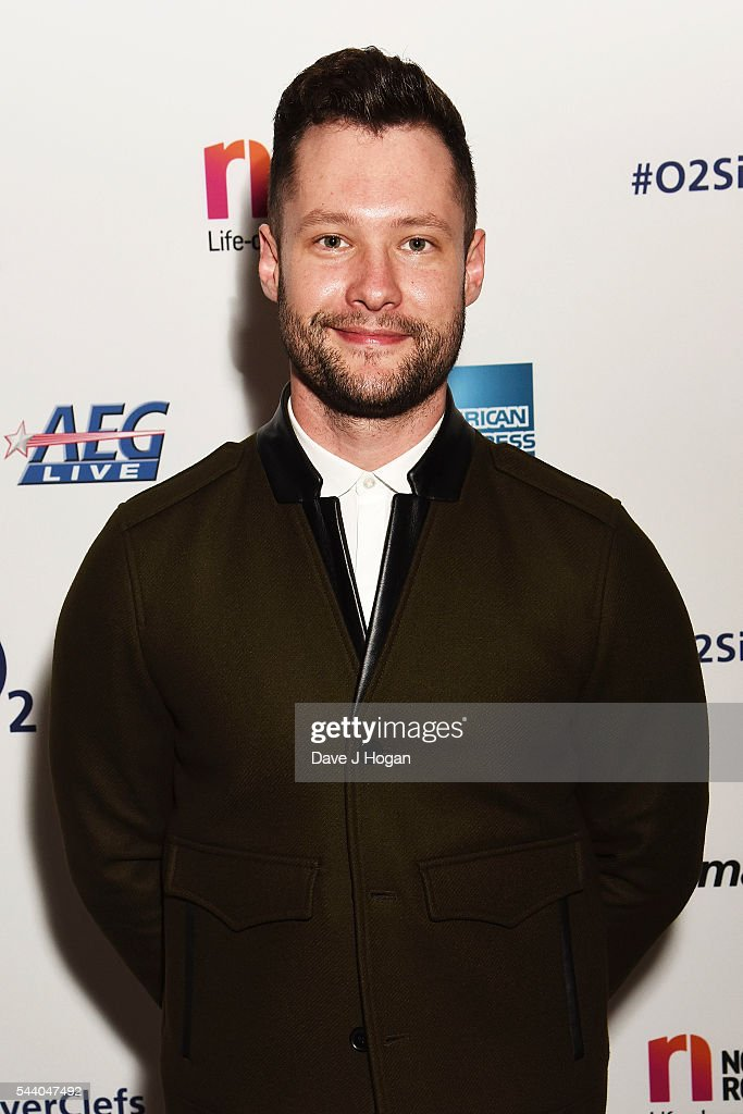 Calum Scott poses for a photo during the Nordoff Robbins O2 Silver Clef Awards on July 1, 2016 in London, United Kingdom.