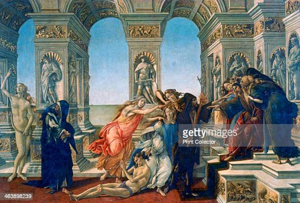 'Calumny of Apelles' 14971498 Found in the collection of the Galleria degli Uffizi Florence Italy