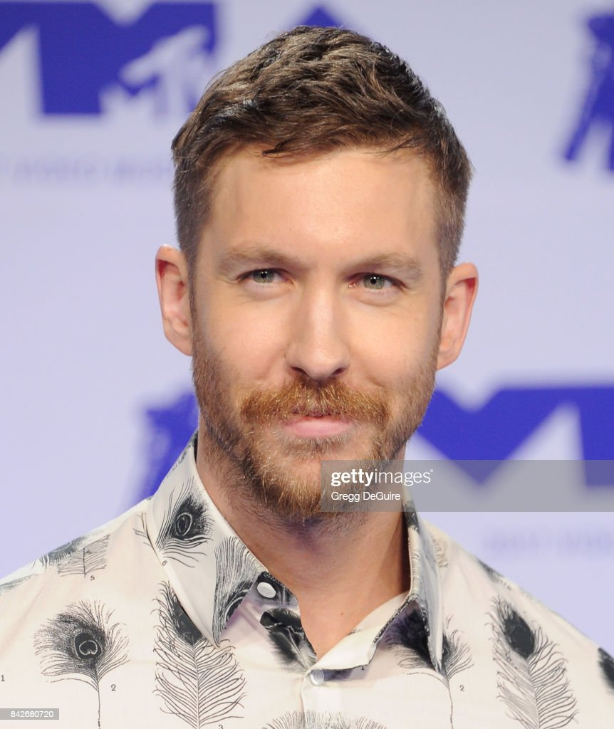 Calvin Harris arrives at the 2017 MTV Video Music Awards at The Forum on August 27, 2017 in Inglewood, California.