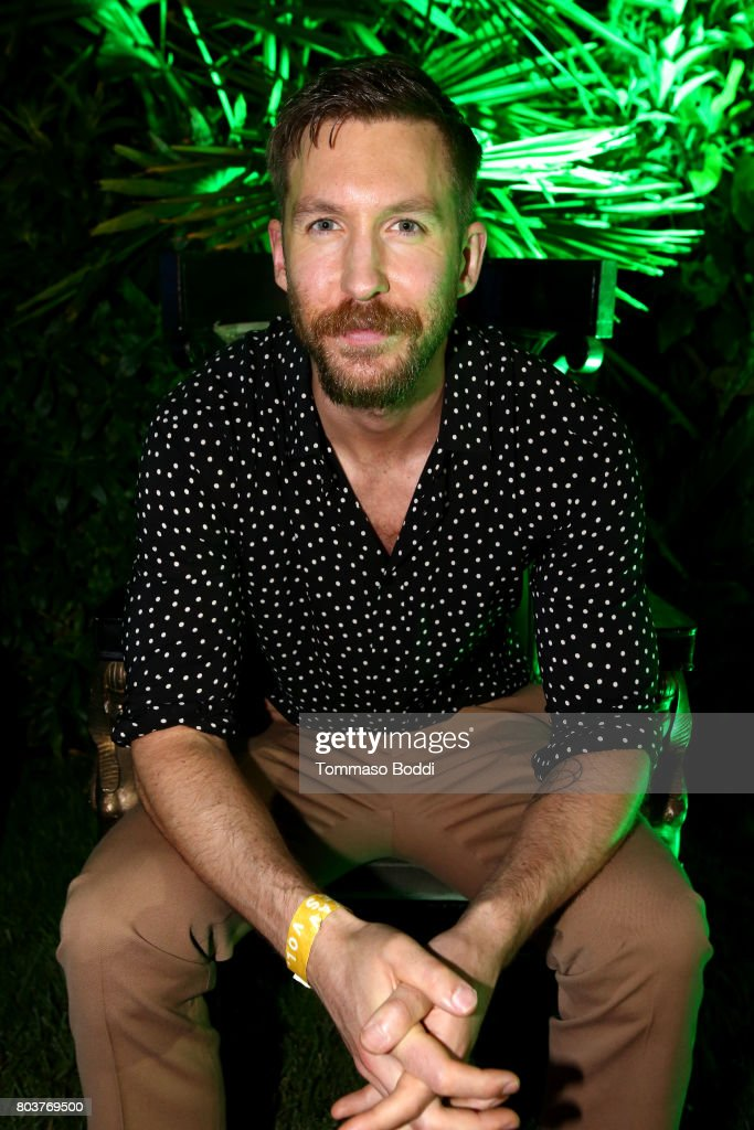 Calvin Harris attends his album launch party at a private residence on June 29, 2017 in Los Angeles, California.