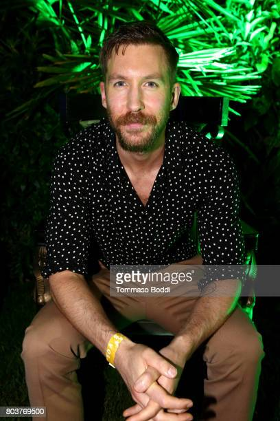 Calvin Harris attends his album launch party at a private residence on June 29 2017 in Los Angeles California