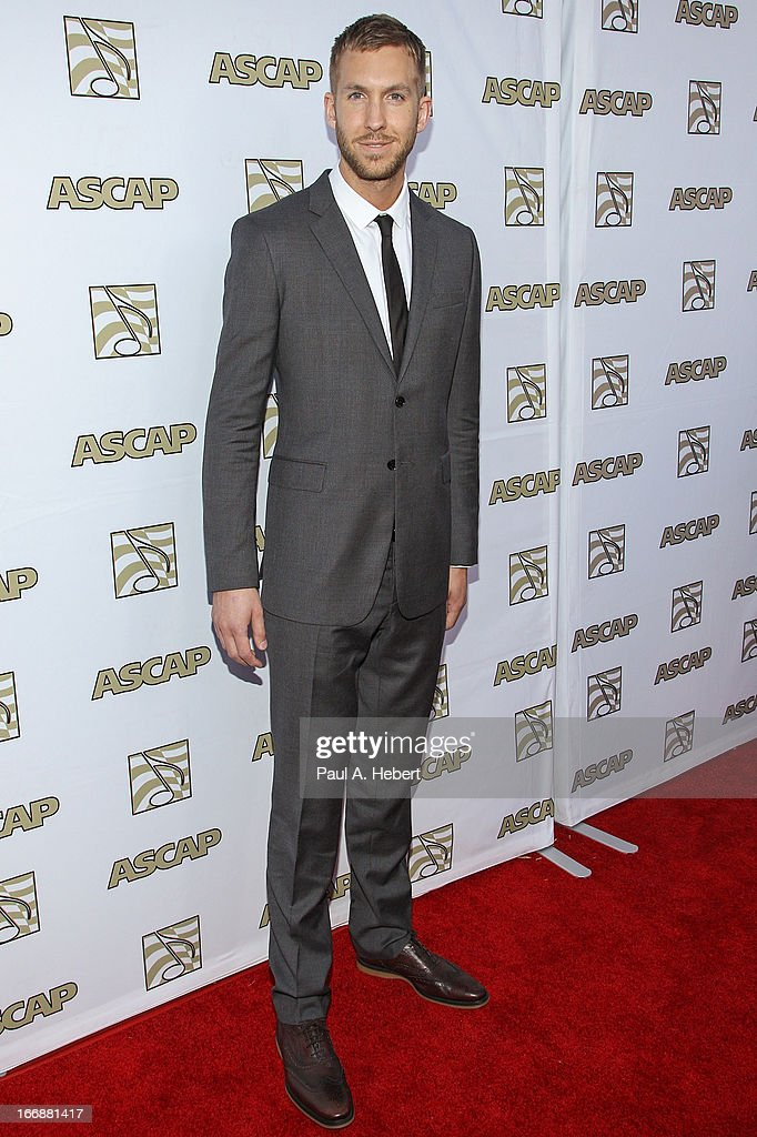 Calvin Harris attends the 30th Annual ASCAP Pop Music Awards at Loews Hollywood Hotel on April 17, 2013 in Hollywood, California.