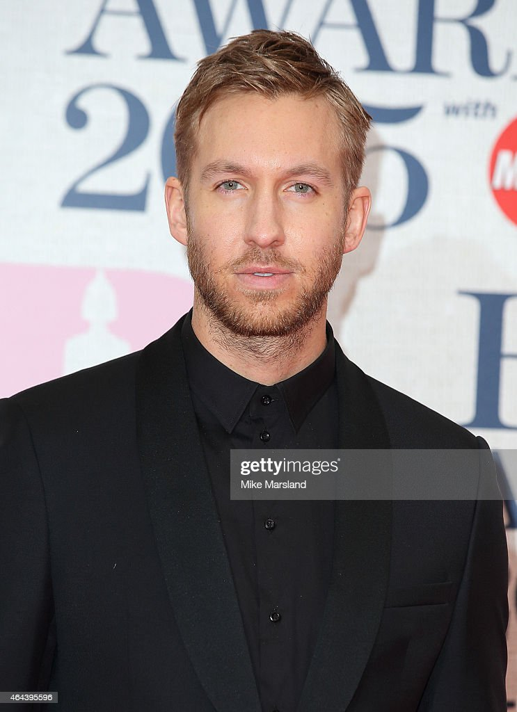 <a gi-track='captionPersonalityLinkClicked' href=/galleries/search?phrase=Calvin+Harris&family=editorial&specificpeople=4412722 ng-click='$event.stopPropagation()'>Calvin Harris</a> attends the BRIT Awards 2015 at The O2 Arena on February 25, 2015 in London, England.