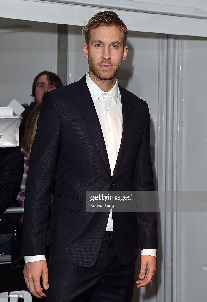 Calvin Harris attends the Glamour Women of the Year Awards at Berkeley Square Gardens on June 2 2015 in London England