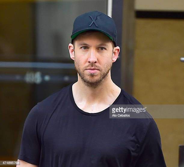 Calvin Harris is seen in Soho on May 27 2015 in New York City