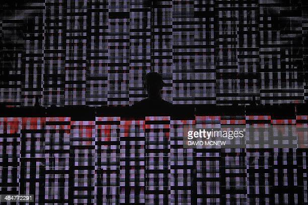 Calvin Harris performs at the Coachella Valley Music Arts Festival at the Empire Polo Club in Indio California April 13 2014 The annual music...