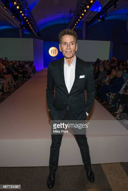 Calvin Klein attends FIT's The Future Of Fashion Runway Show at The Fashion Institute of Technology on May 1 2014 in New York City