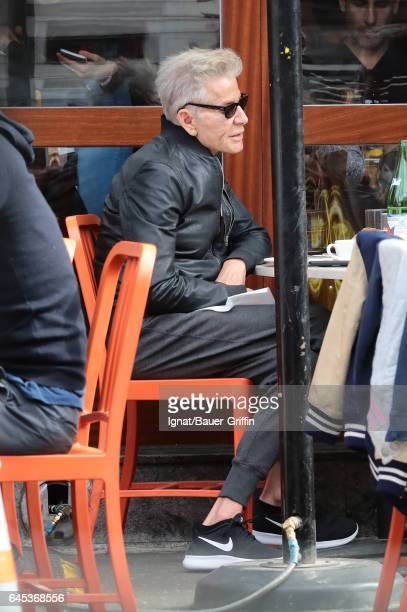 Calvin Klein is seen on February 25 2017 in New York City