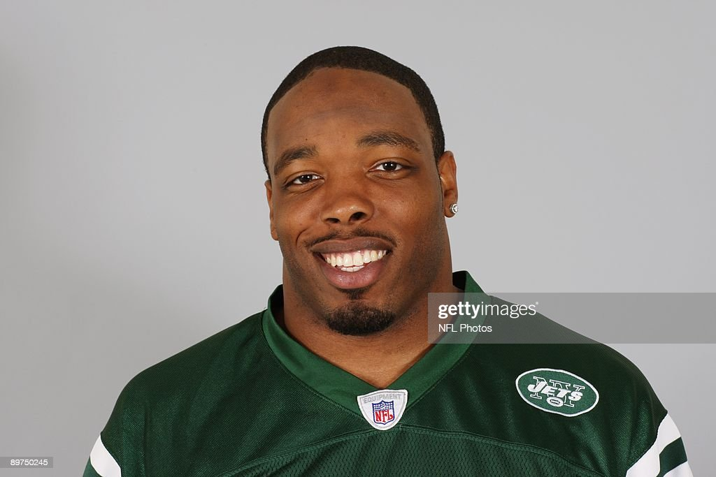 Calvin Pace of the New York Jets poses for his 2009 NFL headshot at photo day in East Rutherford, New Jersey.