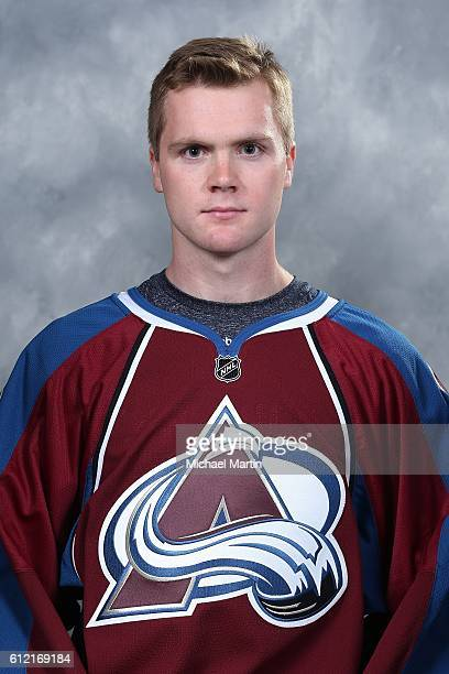 Calvin Pickard of the Colorado Avalanche poses for his official headshot for the 20162017 NHL season on September 22 2016 at the Pepsi Center in...