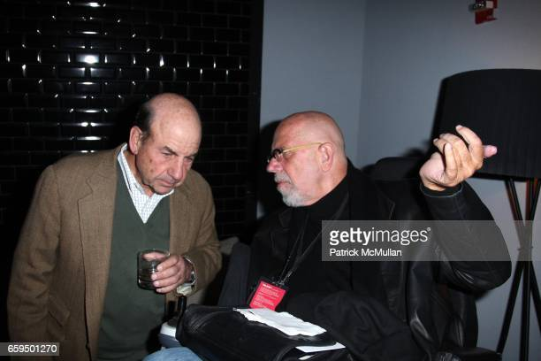 Calvin Trillin and Chuck Close attend THE NEW YORKER FESTIVAL PARTY at Cooper Square Hotel on October 17 2009 in New York City