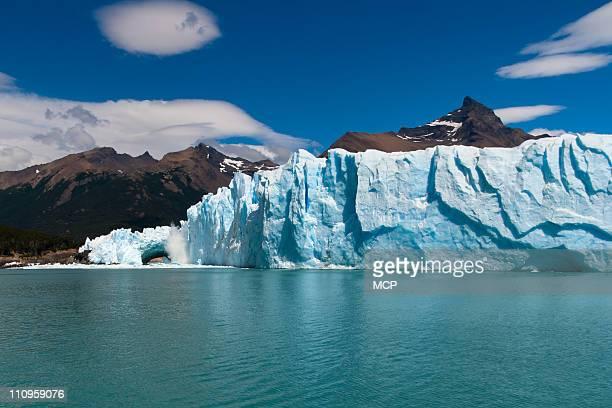 Calving Perito Moreno Glacier in Argentina