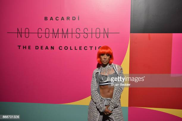 Calyann Barnett attends BACARDI Swizz Beatz and The Dean Collection bring NO COMMISSION back to Miami to celebrate 'Island Might' at Soho Studios on...