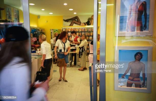 Calzedonia shop on Via Po 10a.