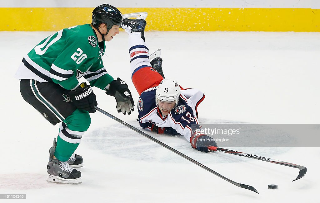 Columbus Blue Jackets v Dallas Stars