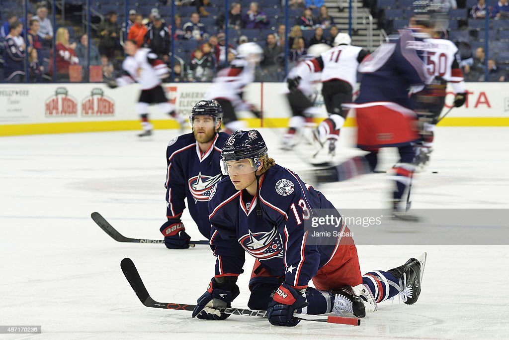 Arizona Coyotes v Columbus Blue Jackets Photos and Images | Getty ...