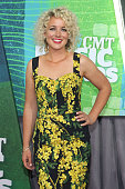 Cam attends the 2015 CMT Music awards at the Bridgestone Arena on June 10 2015 in Nashville Tennessee