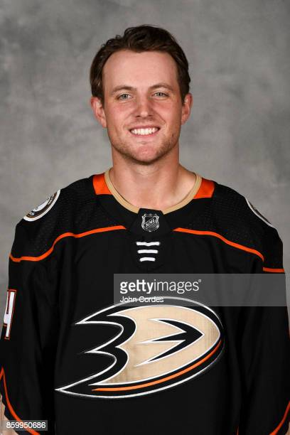 Cam Fowler of the Anaheim Ducks poses for his official headshot for the 20172018 season on September 14 2017 at Honda Center in Anaheim California