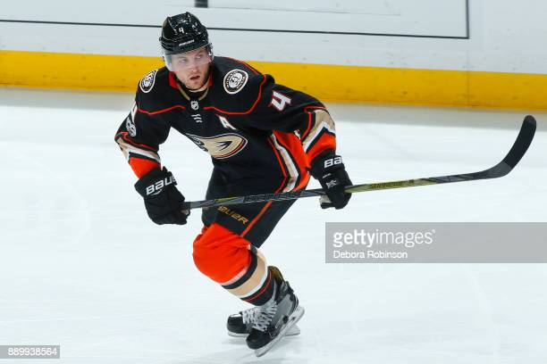 Cam Fowler of the Anaheim Ducks skates during the game against the Ottawa Senators on December 6 2017 at Honda Center in Anaheim California
