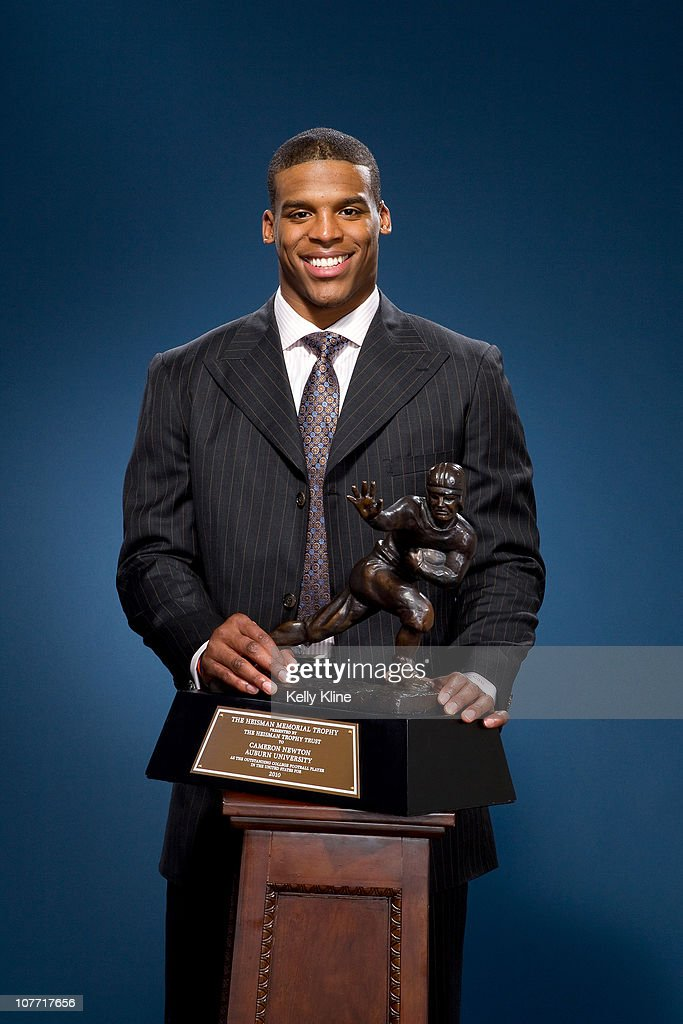 Cam Newton Of The Auburn University Tigers Winner Of The