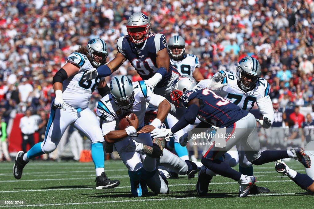 Carolina Panthers vNew England Patriots