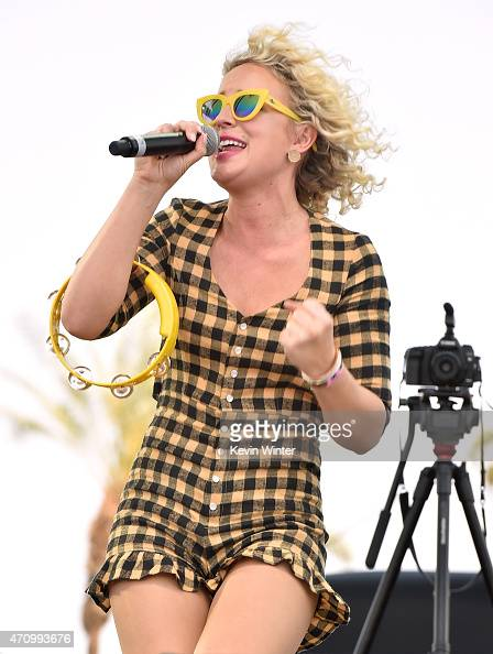Cam performs onstage during day one of 2015 Stagecoach California's Country Music Festival at The Empire Polo Club on April 24 2015 in Indio...