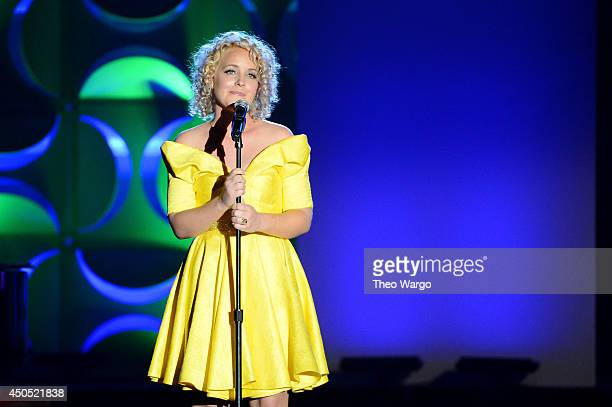 Cam speaks onstage at the Songwriters Hall of Fame 45th Annual Induction and Awards at Marriott Marquis Theater on June 12 2014 in New York City