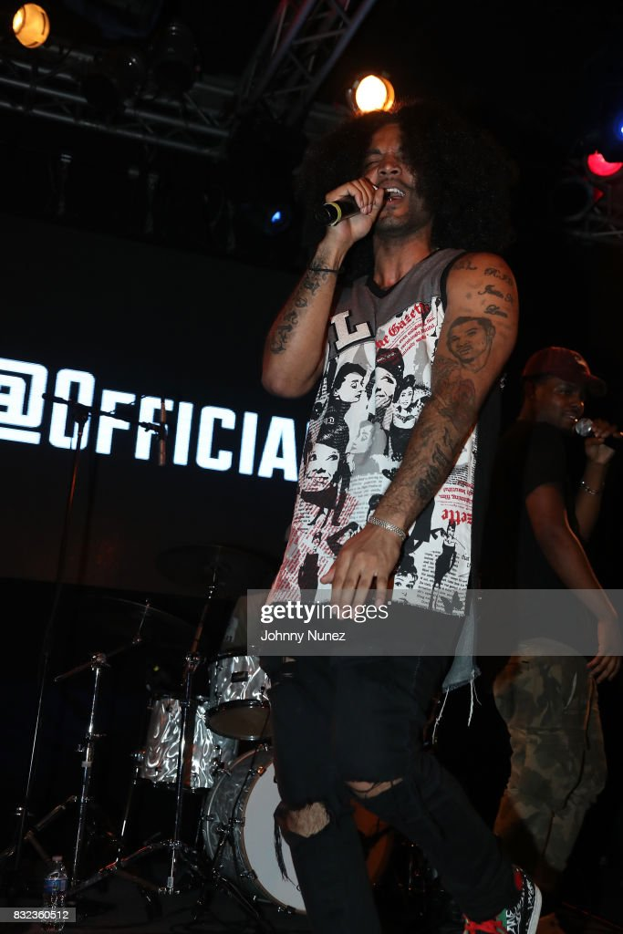 Cambatta performs in concert at Highline Ballroom on August 15, 2017 in New York City.