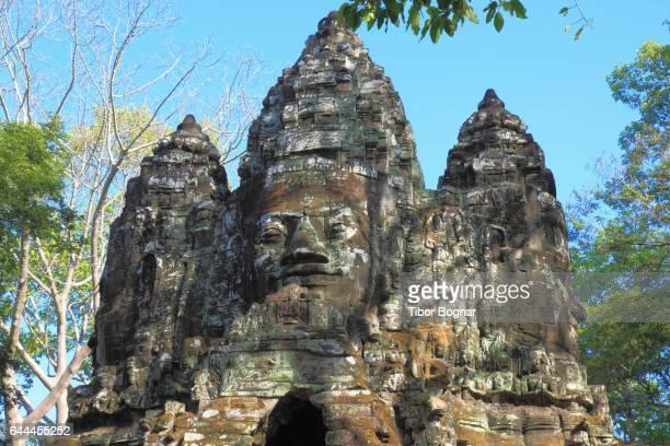 Cambodia, Angkor, Angkor Thom, North Gate,