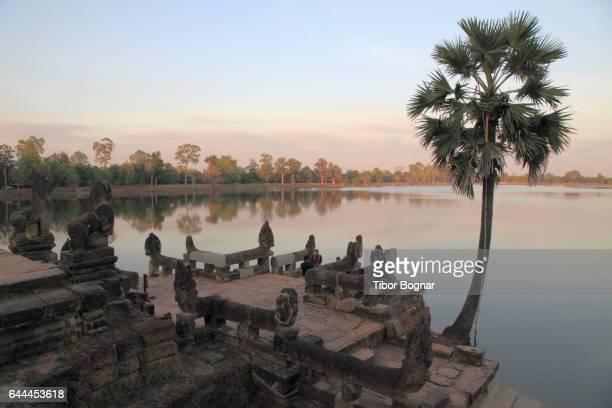 Cambodia, Angkor, Sras Srang, Pool of Ablutions,